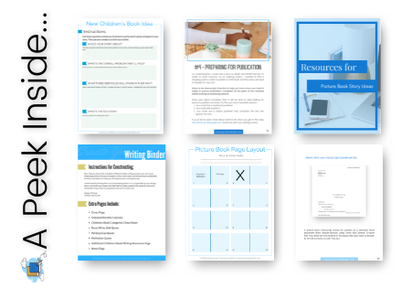 Kidlit Writer's Starter Kit - Pages