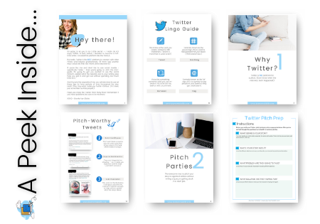 Twitter Pitch Party Pack Pages