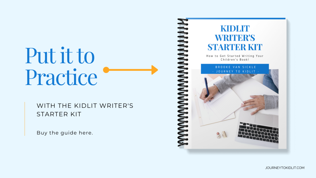 Kidlit Writer's Starter Kit | Your guide to help you write a children's book